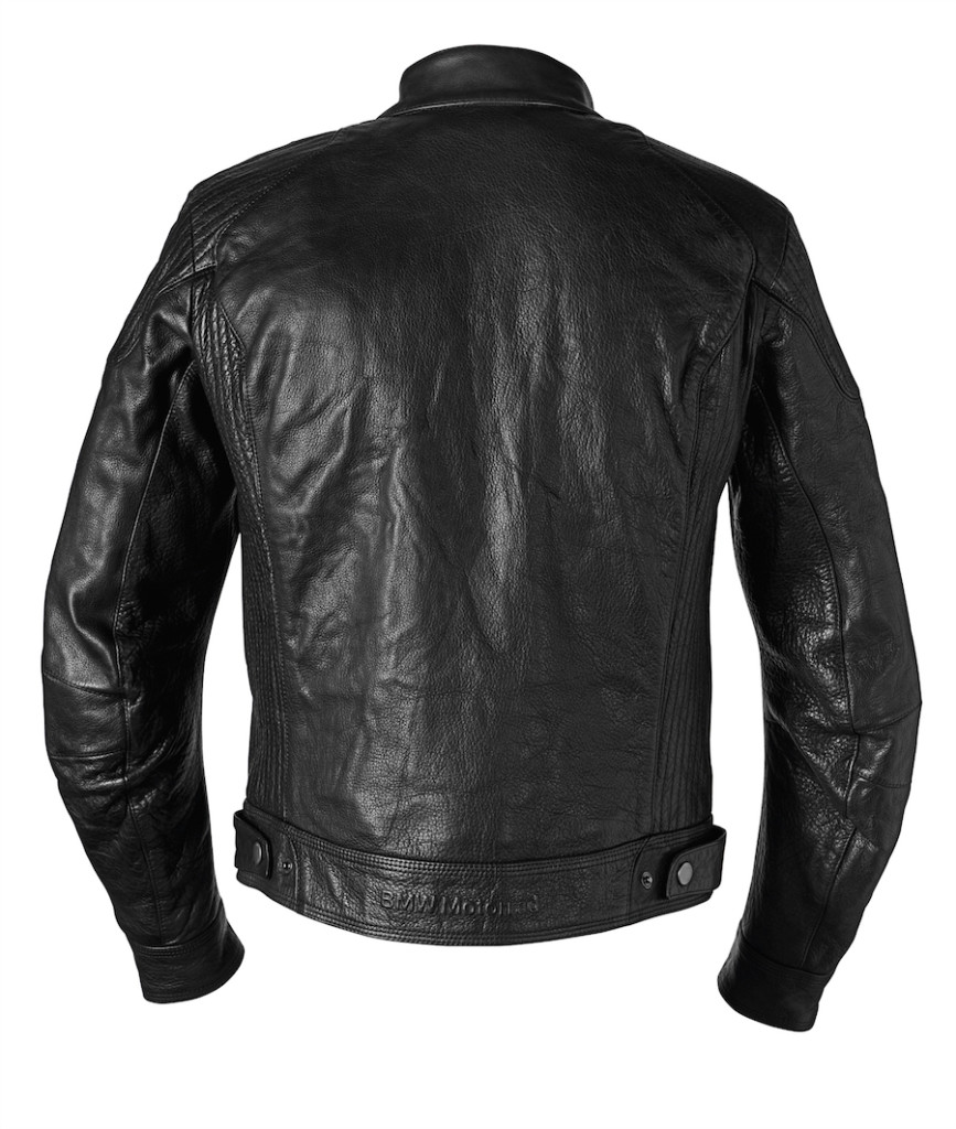 blouson BlackLeather dos