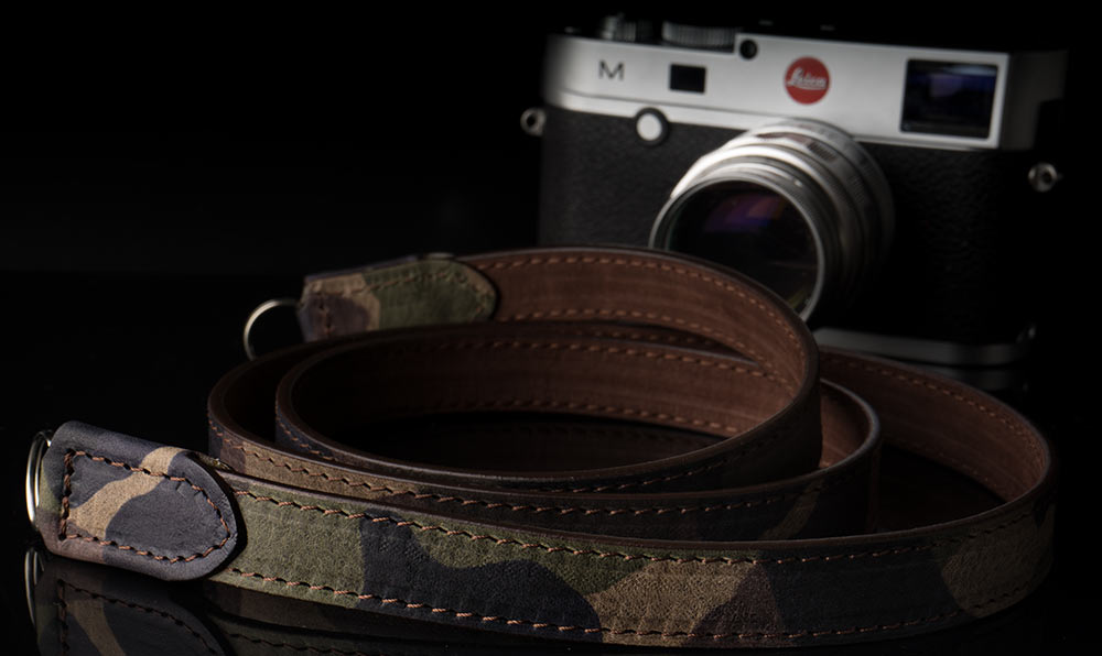 angelo-pelle-camera-strap-CAMOUFLAGE-STITCHED-M240
